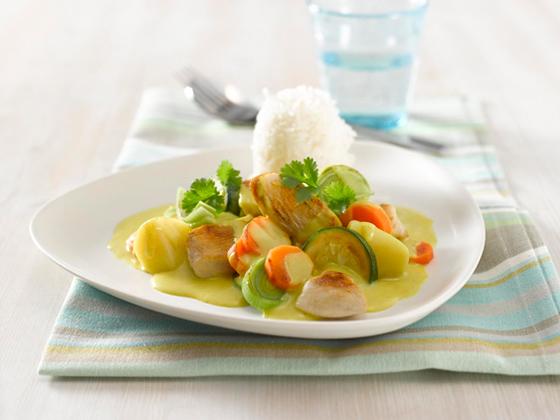 蔬菜咖喱鸡