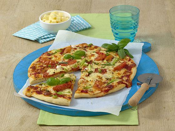马苏里拉干酪披萨